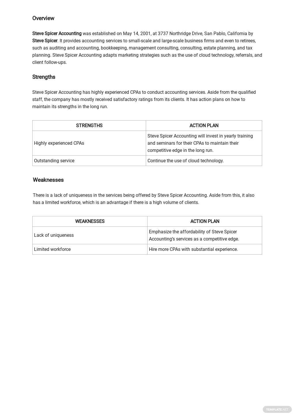 Accounting Firm SWOT Analysis Template 1.jpe