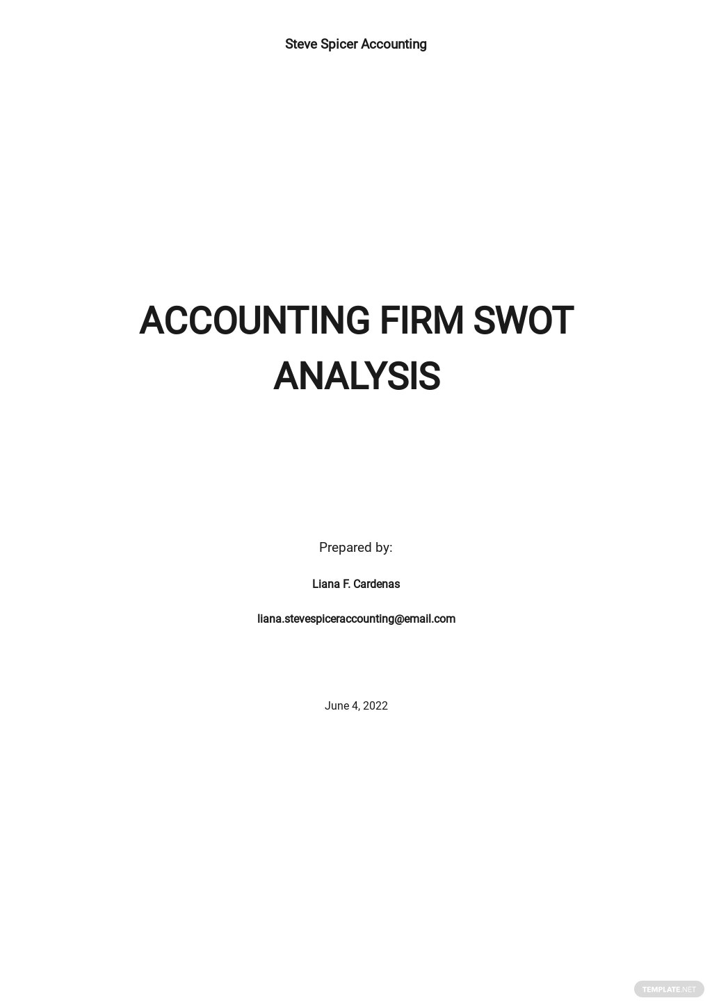 Accounting Firm SWOT Analysis Template.jpe