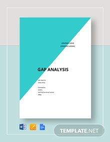 Blank Gap Analysis Template