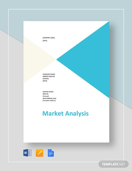 Blank Market Analysis Template
