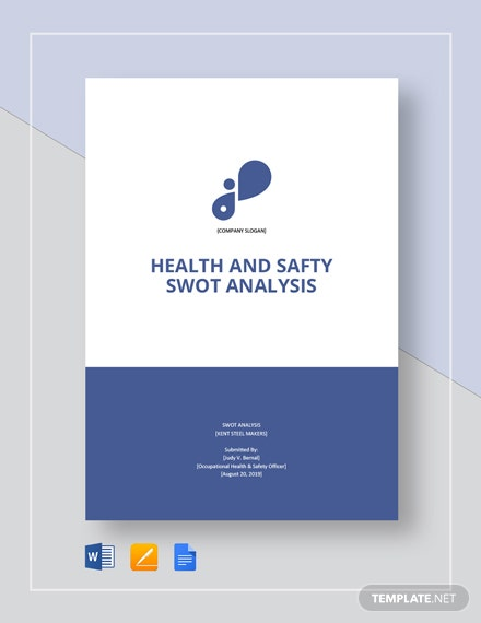 Health  Safety Swot Analysis