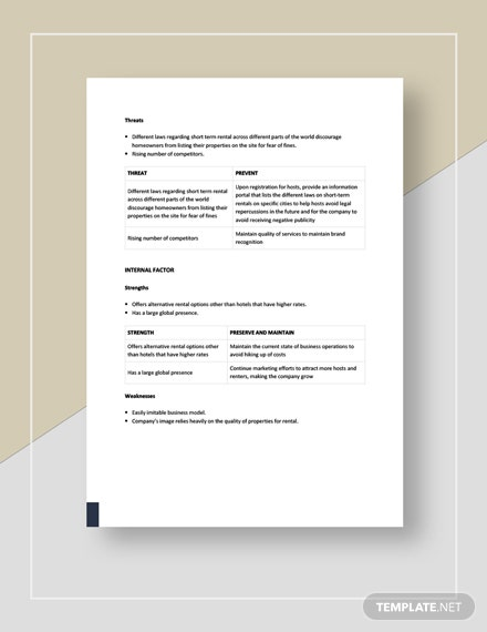 Home Rental Swot Analysis Download