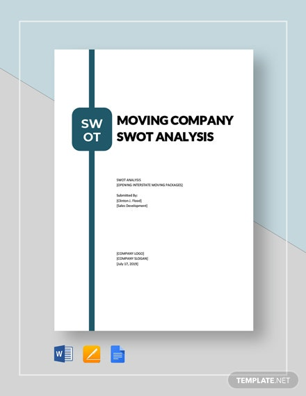 Moving Company swot analysis