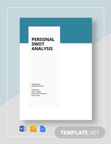 Personal Swot Analysis Template