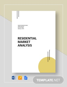 Residential Market Analysis Template