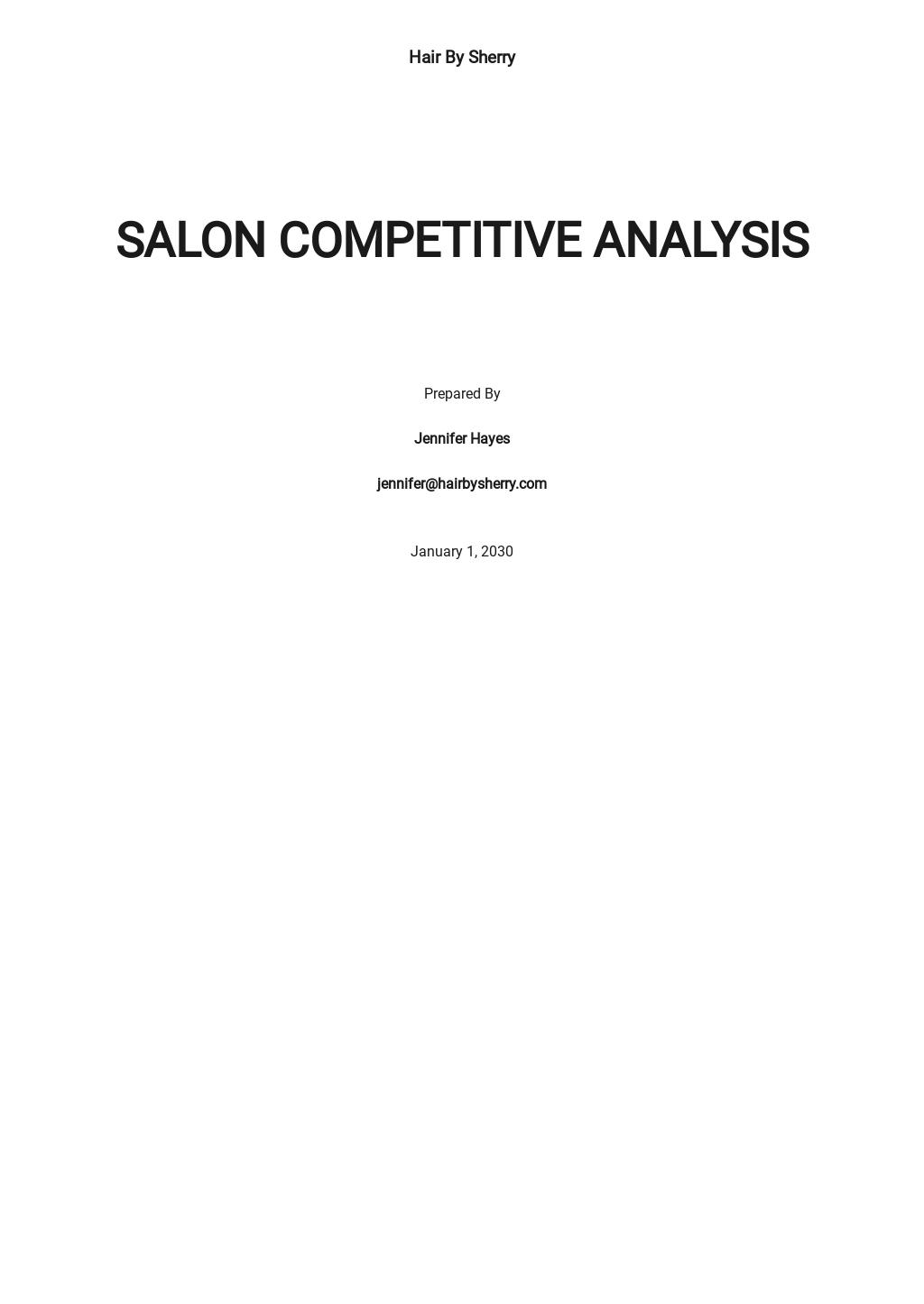 Salon competitive analysis template.jpe