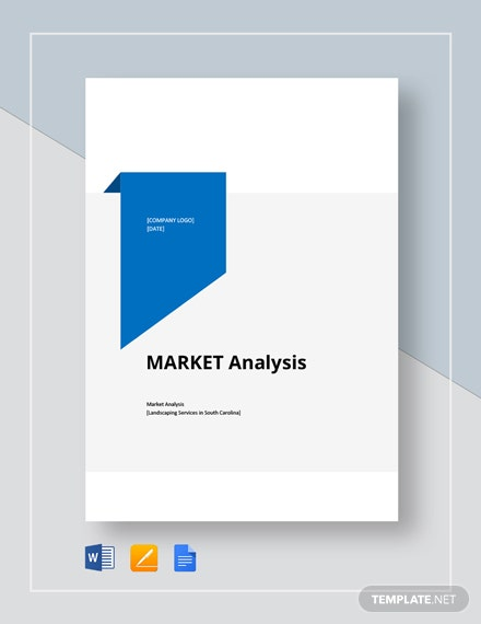 Simple Market Analysis Template