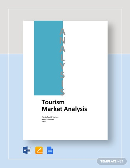 Tourism Market Analysis Template