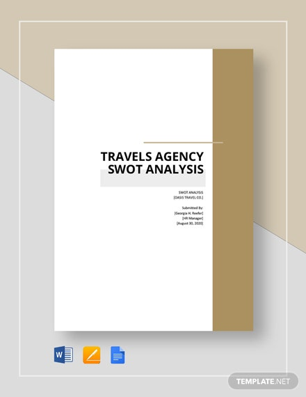 Travel Agency SWOT Analysis
