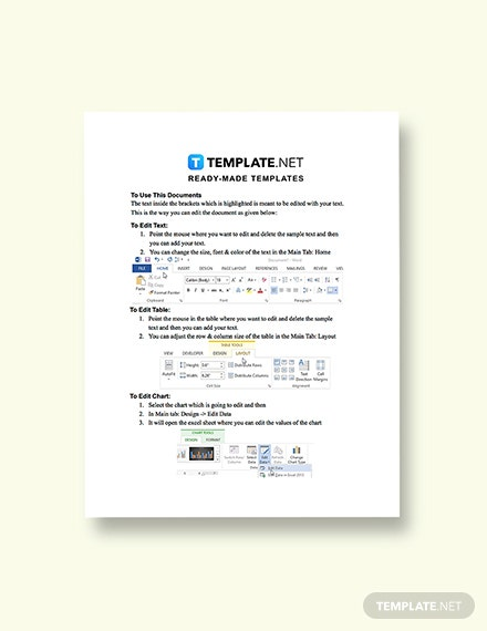 onepage Construction competitive analysis template Printable