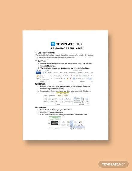 One Page Construction Communication Plan Instructions