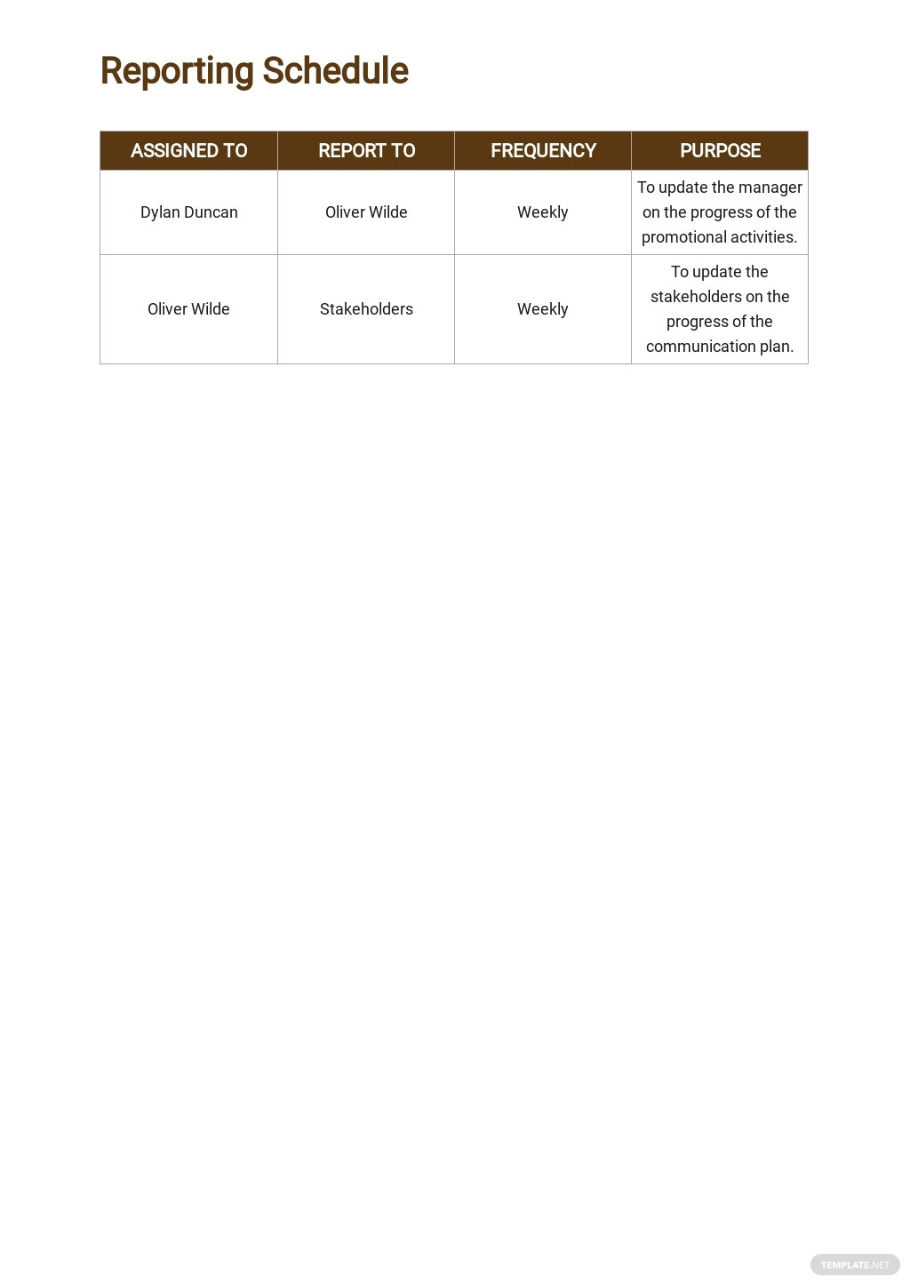 One Page Construction Communication Plan Template 5.jpe