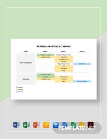 Brand Marketing Roadmap Template