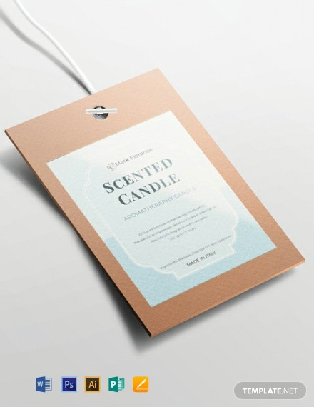 Free Sample Label Design Template