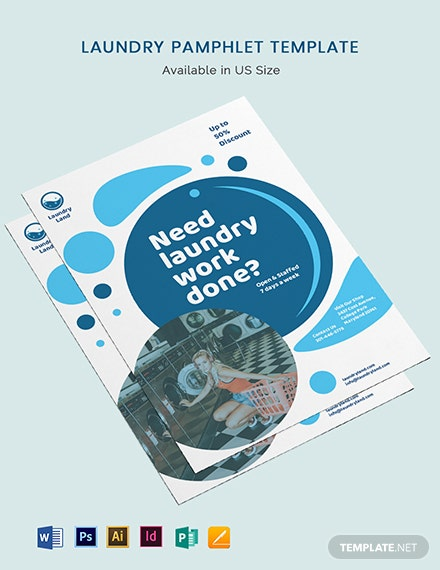Laundry Pamphlet Template