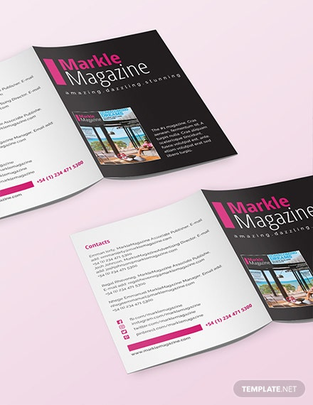 Free Magazine Media Kit Template