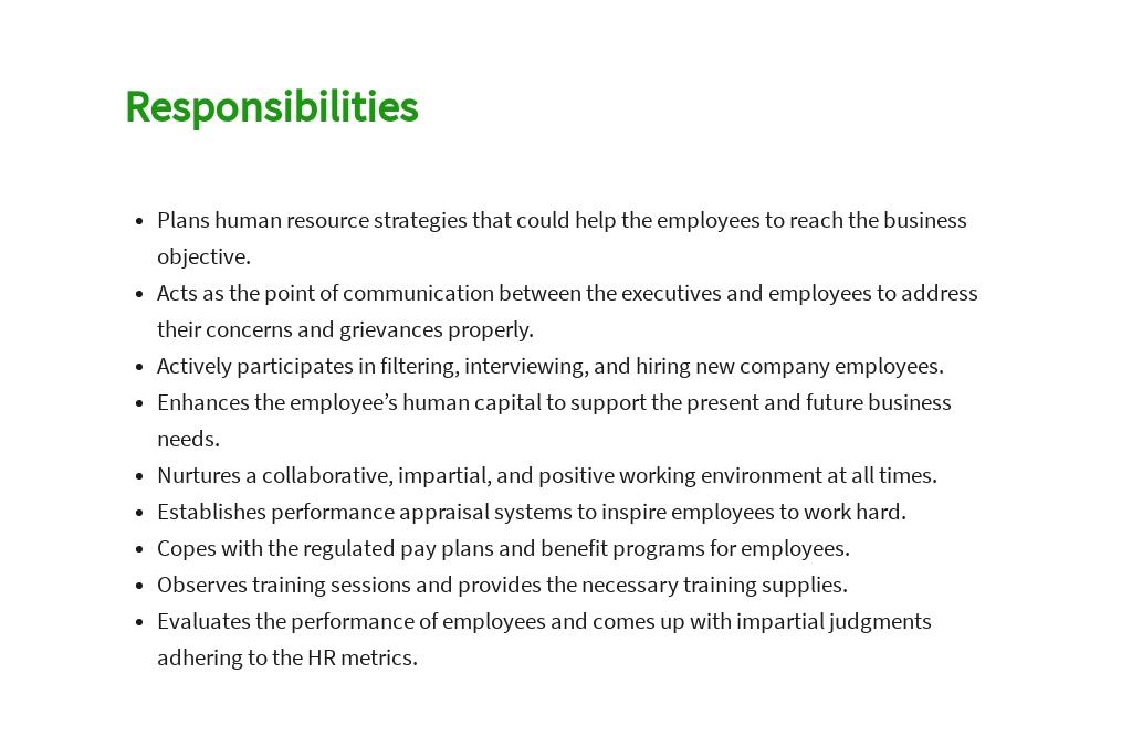 Free HR Manager Job AD/Description Template 3.jpe