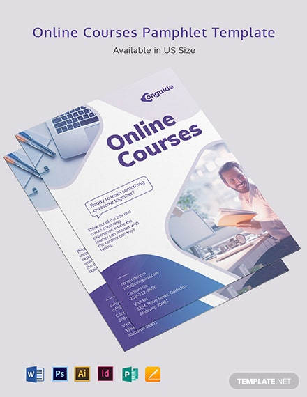 Online courses Pamphlet