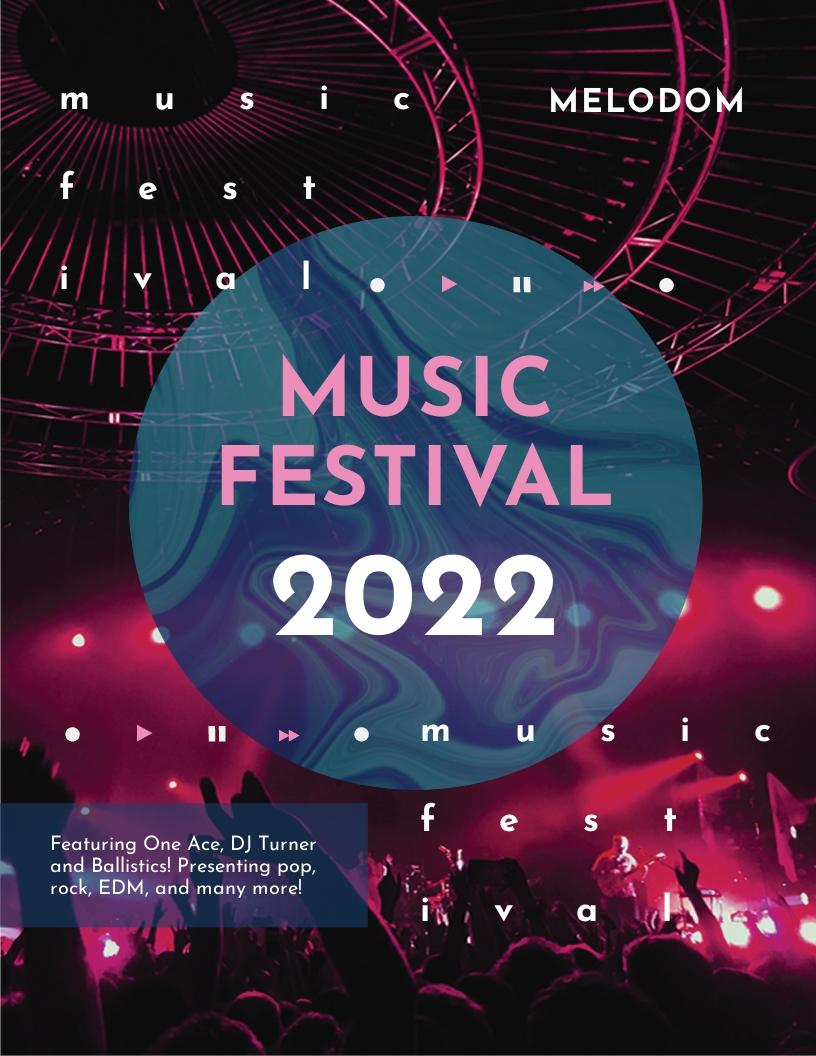 Music Festival Leaflet Template.jpe