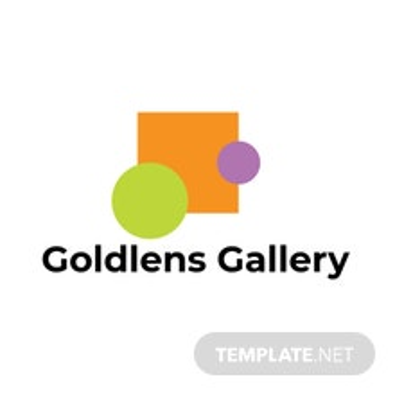 Photo Art Gallery Logo Template