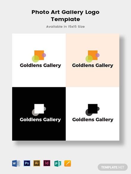 Photo Art Gallery Logo Template