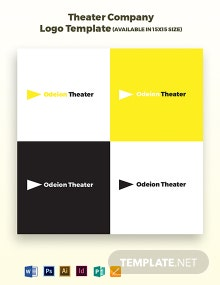 Theater Company Logo Template