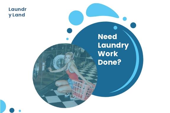 Laundry Postcard Template