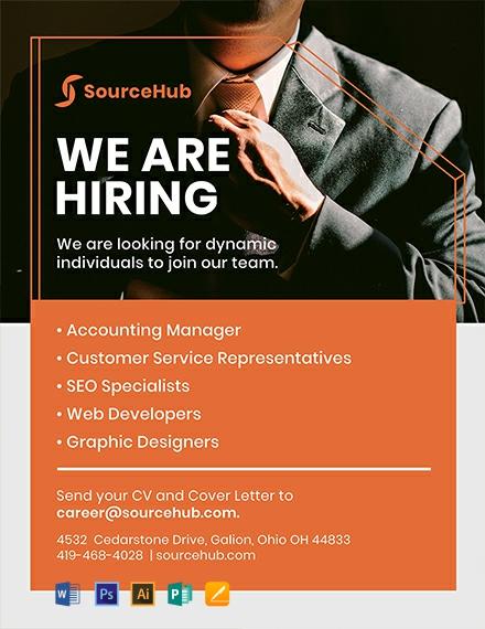 Free Recruitment Flyer Template