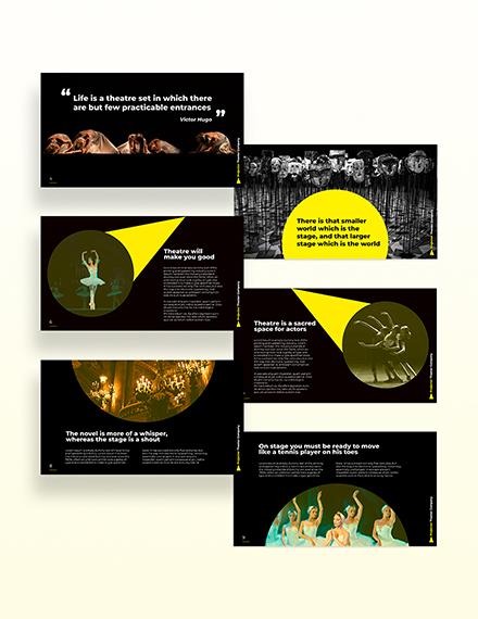 Theater Company Presentation Download