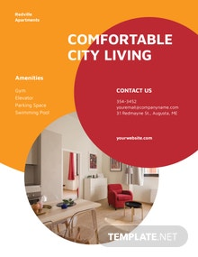 Apartment Rental Flyer Template