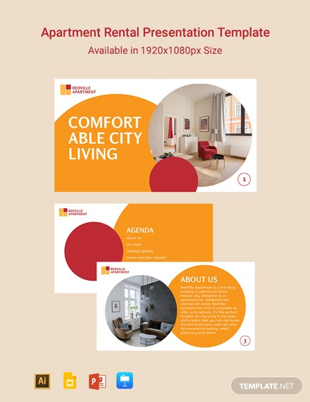 Apartment Rental Presentation Template