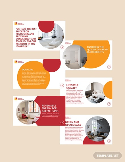 Sample Apartment Rental Presentation Template
