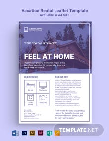 Vacation Rental Leaflet Template