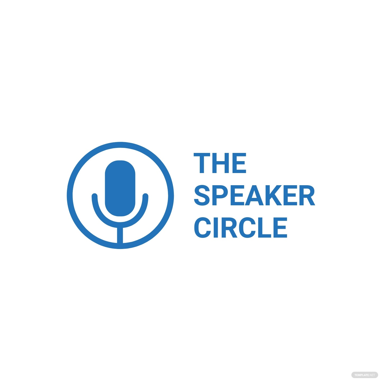 Speaker Logo Template