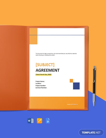 Free Basic Subcontract Agreement Template