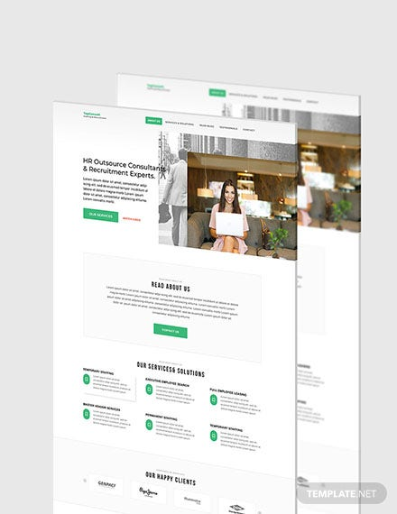 HR Admin Website Format