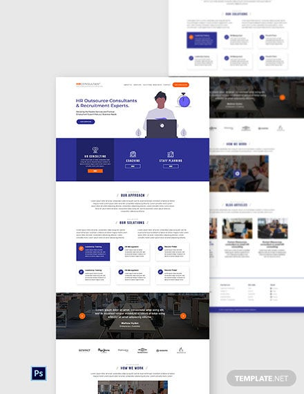 Free Hr Consulting Website Template