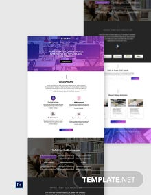 HR Services Website Template