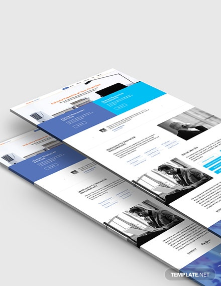 Recruitment Firm Website Template
