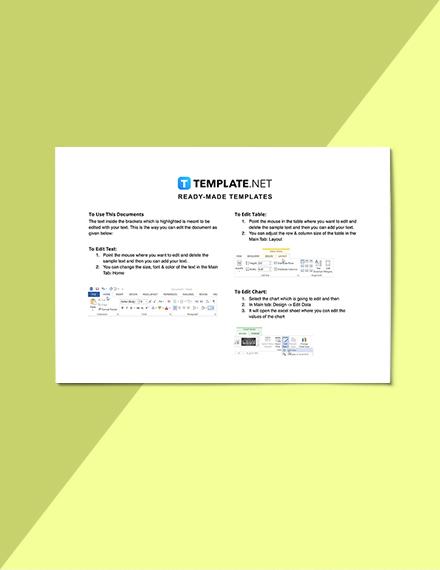Sample Construction Job Schedule Template