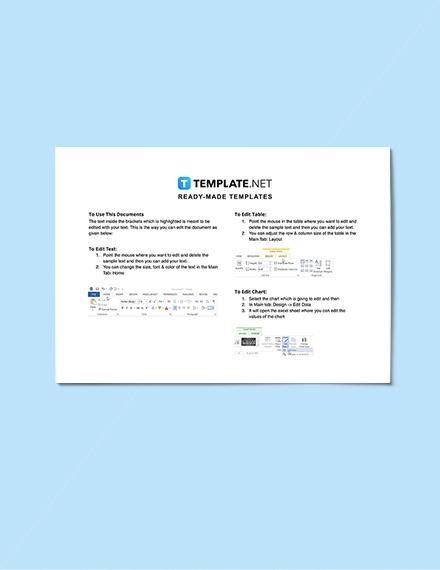 Sample Construction Change Management Schedule