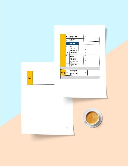Printable Construction Phase Plan Checklist