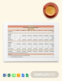 Construction Basic Cash Flow Forecast Template