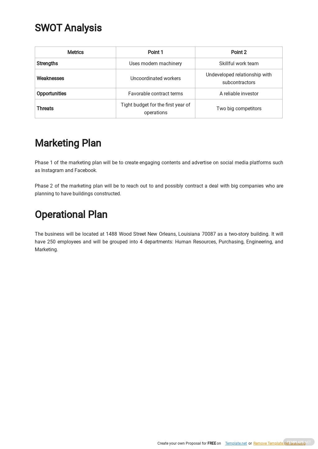 Sample Construction Business Plan Template 2.jpe