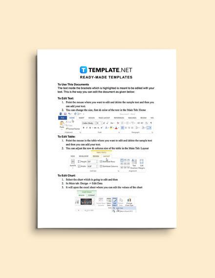 Construction Change Management Plan editable