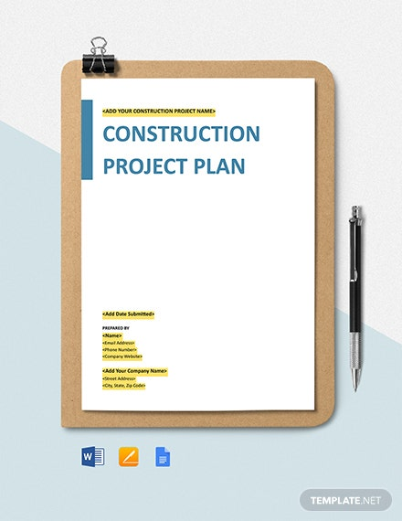 Construction Procurement Management Plan Template