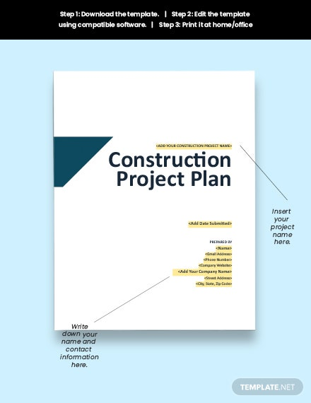 Construction Quality Control Plan Download