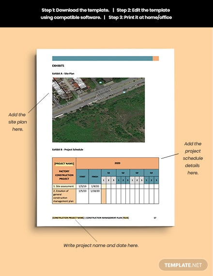 Construction Safety  Environment Management Plan printable