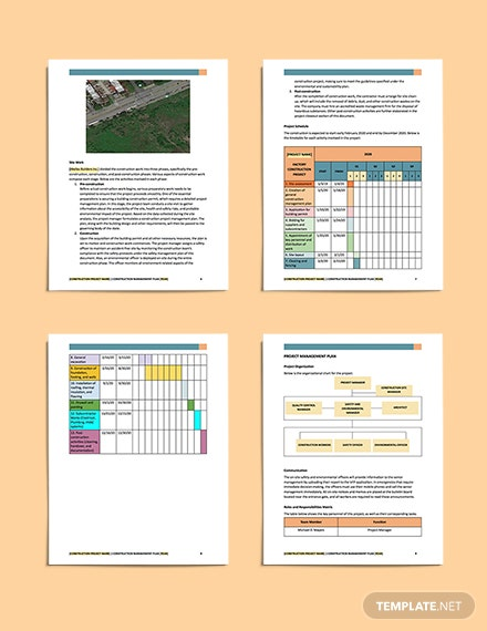 sample Construction Safety  Environment Management Plan