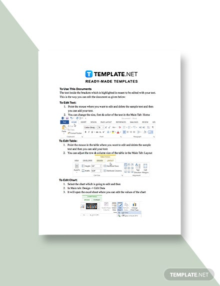 Notice of Additional Costs Template guide